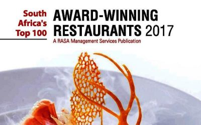 Vini's Restaurant Awards from RASA