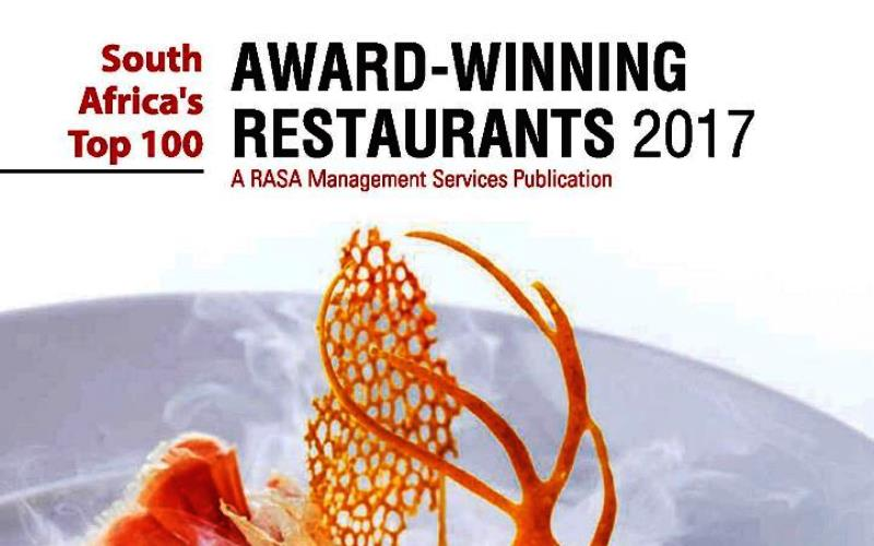 RASA-top 100 Restaurants VINIS-restaurant awards