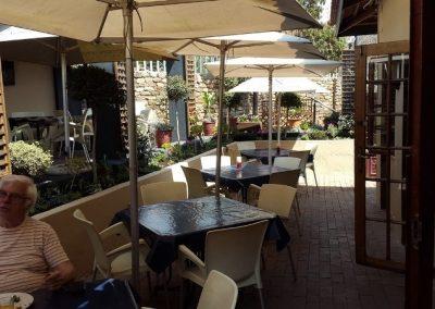 Exterior of Vini's restaurant in the Edenvale area