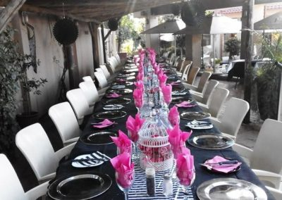 Venue for guests in Johannesburg
